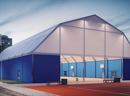 Sports arena tents